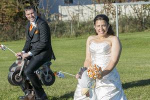Megan Sechnick wedding playground pic